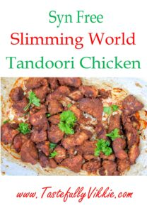 Slimming World Syn Free Tandoor Chicken